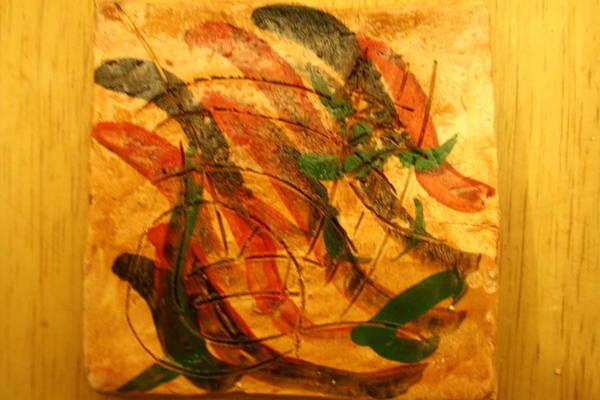 Ceramic Art - Lead Me Home - Tile by Gloria Ssali