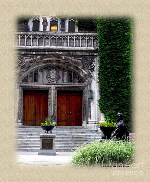 Lehigh University Wall Art - Photograph - Leadership Plaza by Jacqueline M Lewis