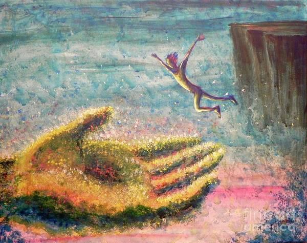 Painting - Leap Of Faith by Lisa DuBois
