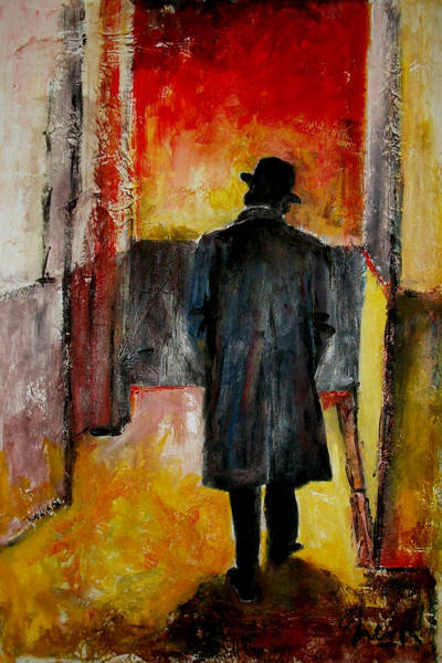 Voices Painting - Leaving Capitol - Frank Sinatra by Marcelo Neira