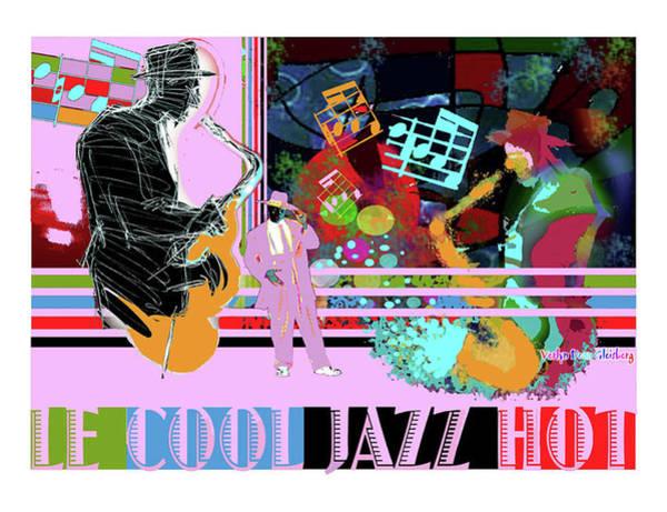 Cool Jazz Digital Art - Lecooljazzhot by Craig A Christiansen
