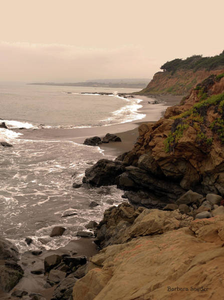 Wall Art - Photograph - Leffingwell Landing Cambria by Barbara Snyder