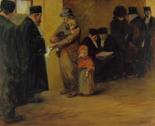 Assistance Painting - Legal Assistance by Jean-Louis Forain