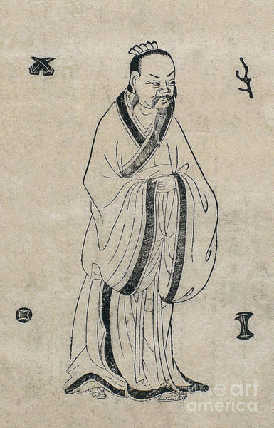 Tcm Wall Art - Photograph - Lei Gong, Legendary Chinese Physician by Wellcome Images