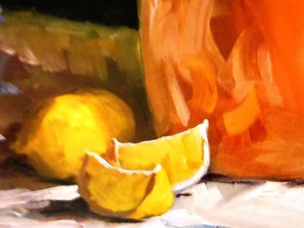 Frederick Morris Painting - Lemons by Lord Frederick Lyle Morris - Disabled Veteran