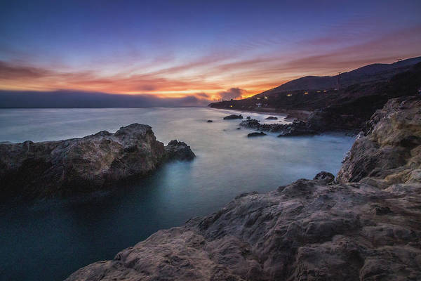 Photograph - Leo Carrillo State Beach After Sunset by Andy Konieczny