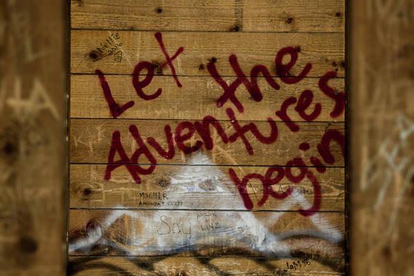 Photograph - Let The Adventures Begin by Hans Franchesco