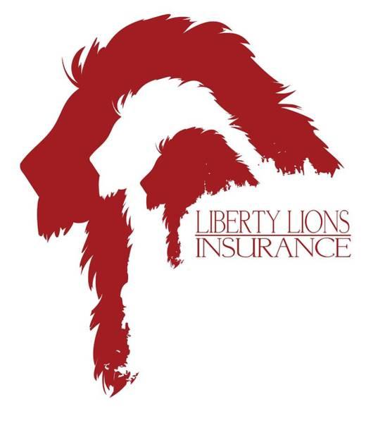 Insurance Digital Art - Liberty Lions Logo by Ryan Anderson