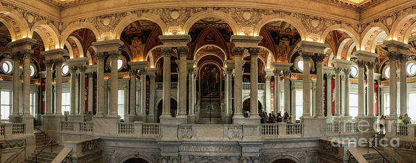 Wall Art - Photograph - Library Of Congress  by Thomas Marchessault