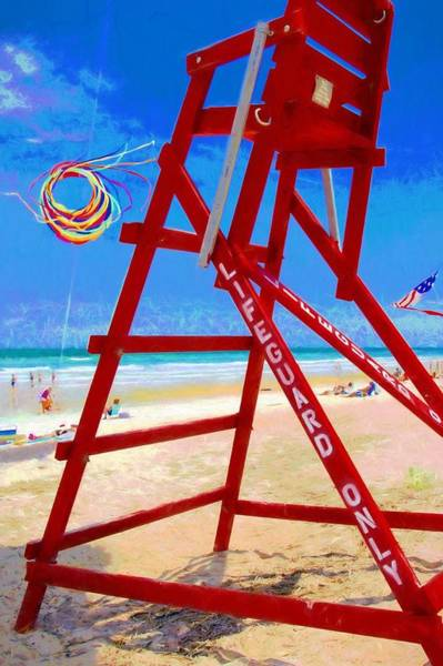 Photograph - Lifeguard Only by Alice Gipson