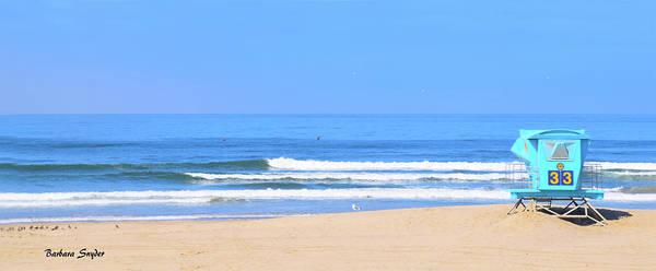 Wall Art - Photograph - Lifeguard Stand 33 Pismo Beach California by Barbara Snyder