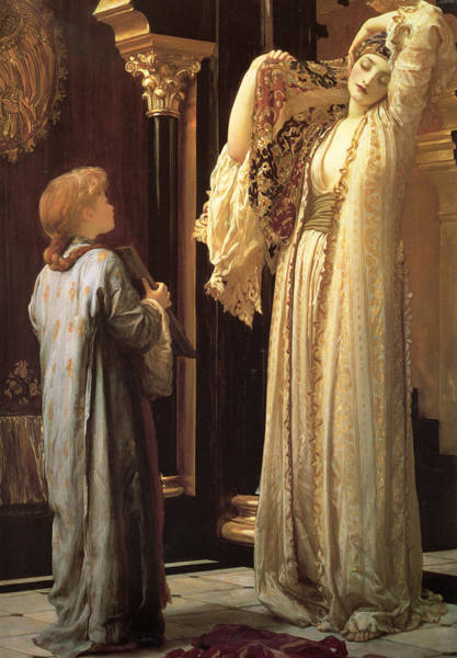 Wall Art - Painting - Light Of The Harem by Frederic Leighton