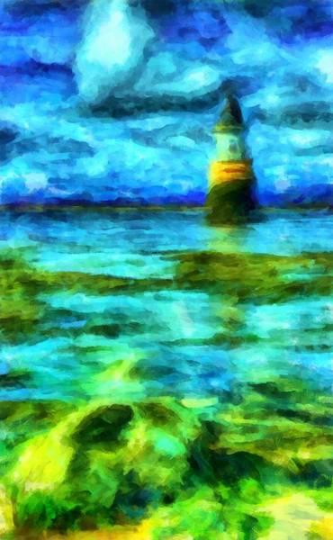 Digital Art - Lighthouse 2 by Caito Junqueira