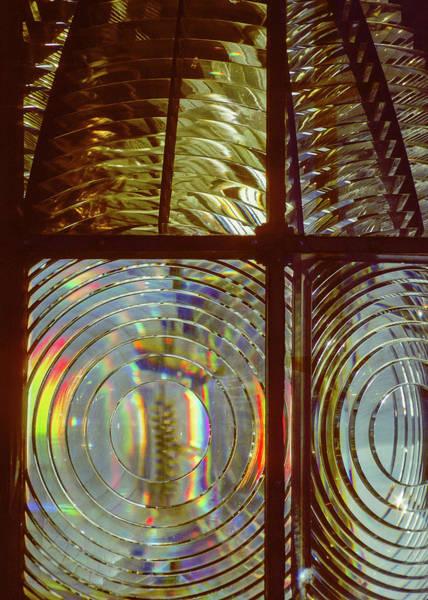 Photograph - Lighthouse Prism by Robert Potts