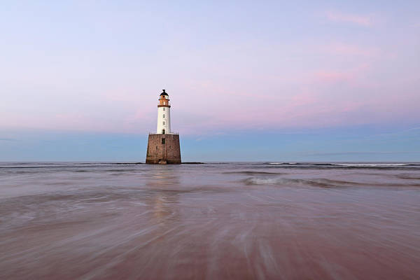 Photograph - Lighthouse Sunset by Grant Glendinning
