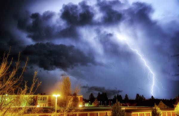 Wall Art - Photograph - Lightning Strike by Cat Connor