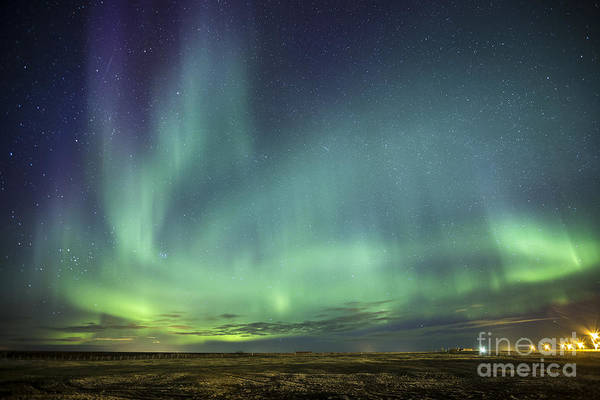 Northern Photograph - Lights And Motion by Evelina Kremsdorf