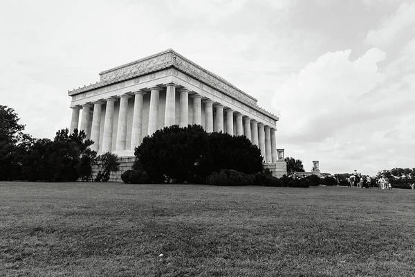 Photograph - Lincoln Memorial Building by Brandon Bourdages