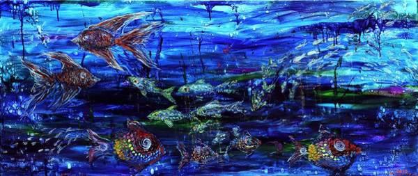 Painting - Lipstick Fish by Regina Valluzzi