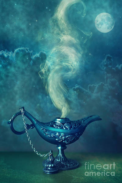 Photograph - Little Genie Lamp by Sandra Cunningham