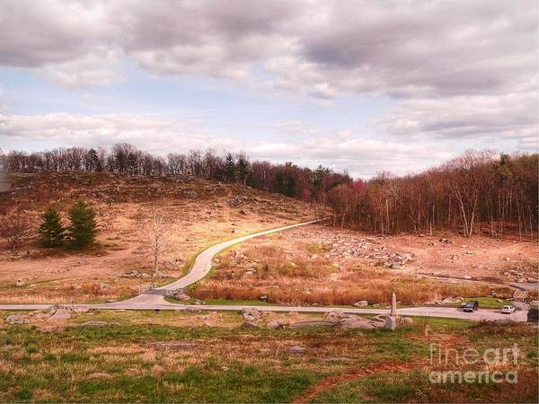 Joshua Lawrence Chamberlain Photograph - Little Round Top by David Bearden
