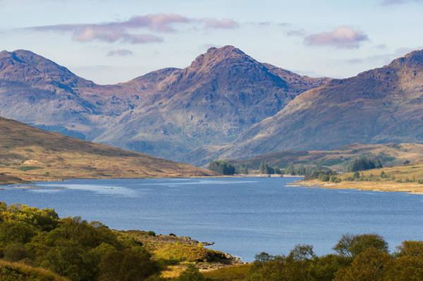 Photograph - Loch Arklet And The Arrochar Alps by Gary Eason