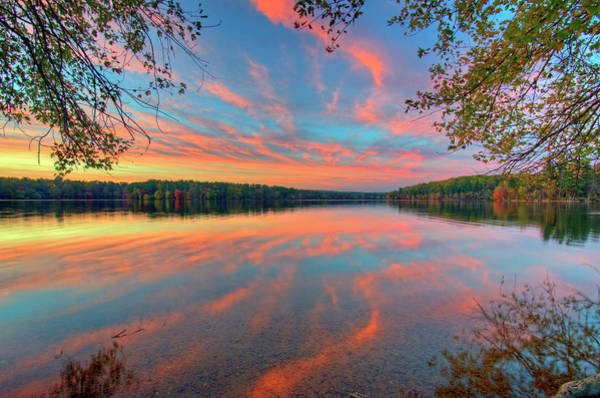 Wall Art - Photograph - Loch Raven Reservoir Sunset by Craig Fildes