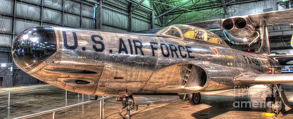Star Wars 3 Wall Art - Photograph - Lockheed F-94, Starfire by Greg Hager