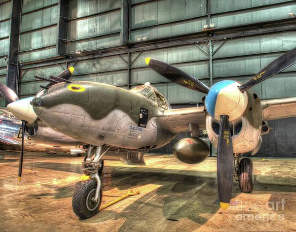 B29 Photograph - Lockheed, P-38l, Lightning by Greg Hager