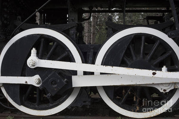 Photograph - Locomotive 1218 by Jim West