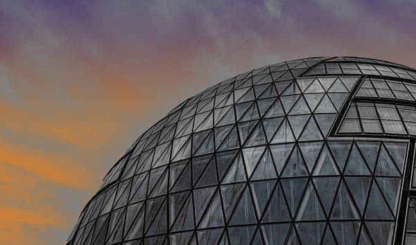 Parliament Building Photograph - London City Hall by Martin Newman