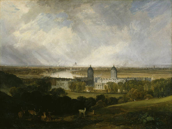 J. M. W. Turner Painting - London From Greenwich Park by JMW Turner