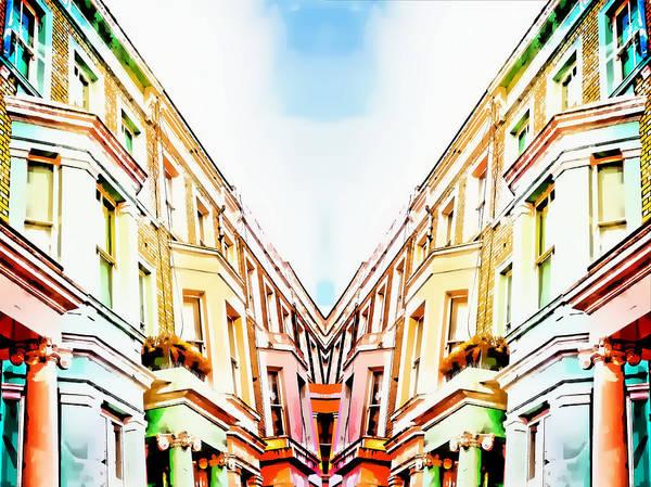 Merge Wall Art - Photograph - London Houses by Tom Gowanlock