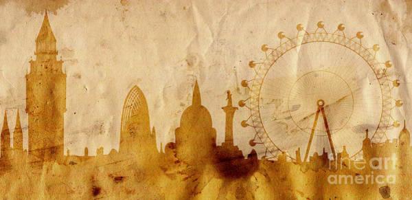 Tourism Wall Art - Mixed Media - London by Michal Boubin