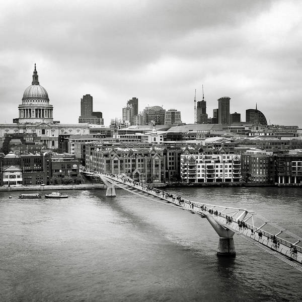 Wall Art - Photograph - London Millenium Bridge by Nina Papiorek