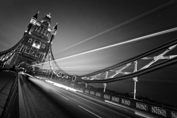 Bridge Photograph - London Tower Bridge by Nina Papiorek