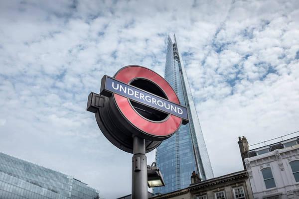 Capital Of Georgia Photograph - London Underground by Georgia Fowler