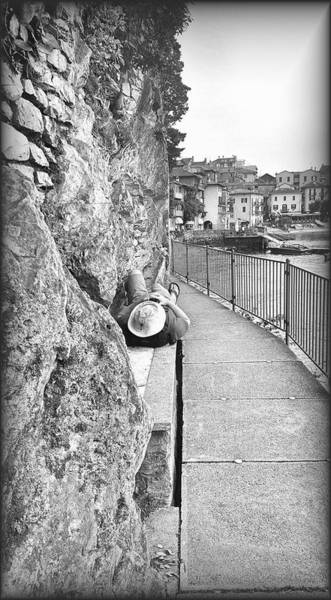 Wall Art - Photograph - Lone Traveler by Valentino Visentini