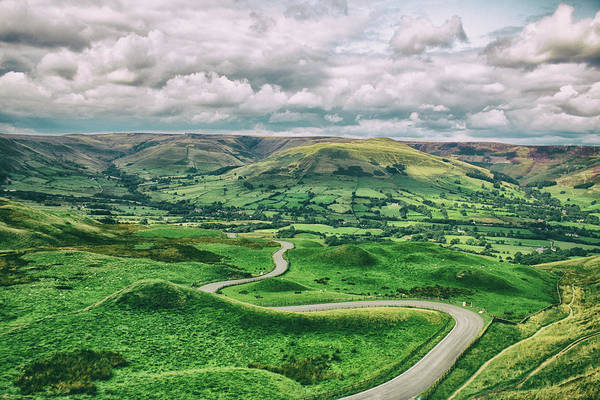Peak District National Park Photograph - Long And Winding Road by Martin Newman