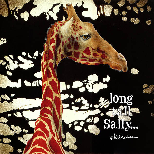 Painting - long tall Sally... by Will Bullas
