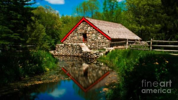 Photograph - Longfellow's Wayside Inn. Sudbury, Massachusetts. by New England Photography