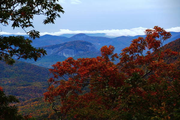 Photograph - Looking Glass Rock by Allen Nice-Webb