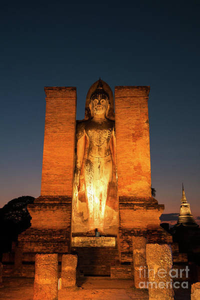 Wall Art - Photograph - Lord Buddha by Atiketta Sangasaeng