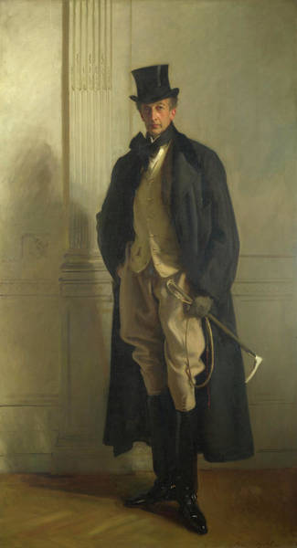 Nobility Painting - Lord Ribblesdale by John Singer Sargent