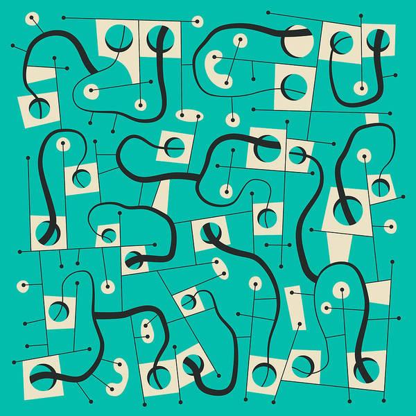 Wall Art - Digital Art - Lost In Space by Jazzberry Blue