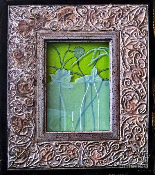 Glass Art - Lotus Pond by Alone Larsen