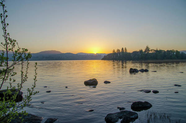 Photograph - Lough Eske Donegal Ireland At Sunrise by Bill Cannon
