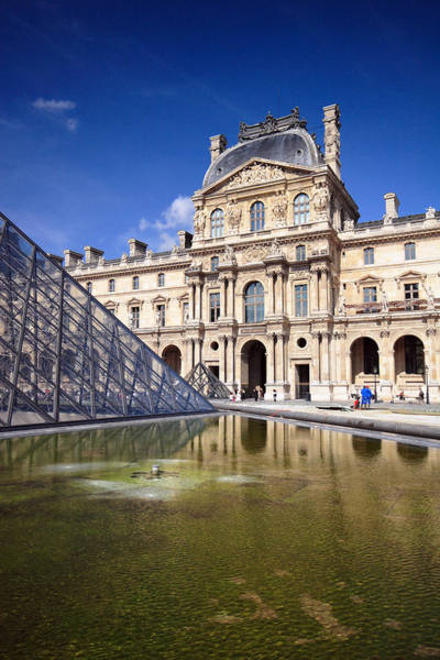 Photograph - Louvre Museum Architecture Paris by Pierre Leclerc Photography