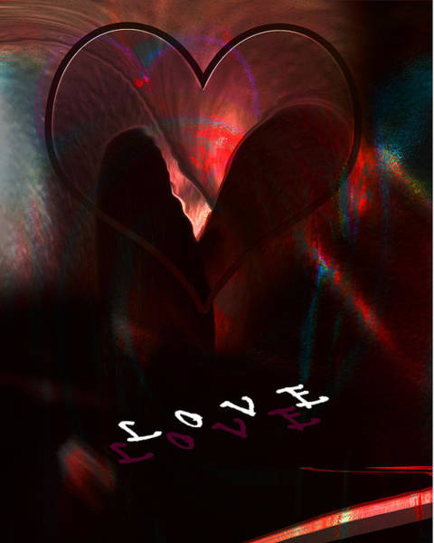 Digital Art - Love by Gerlinde Keating - Galleria GK Keating Associates Inc