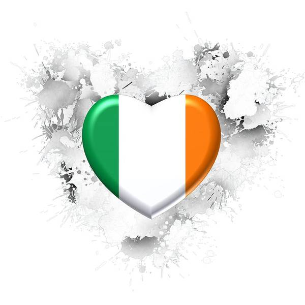 Digital Art - Love Ireland by Alberto RuiZ